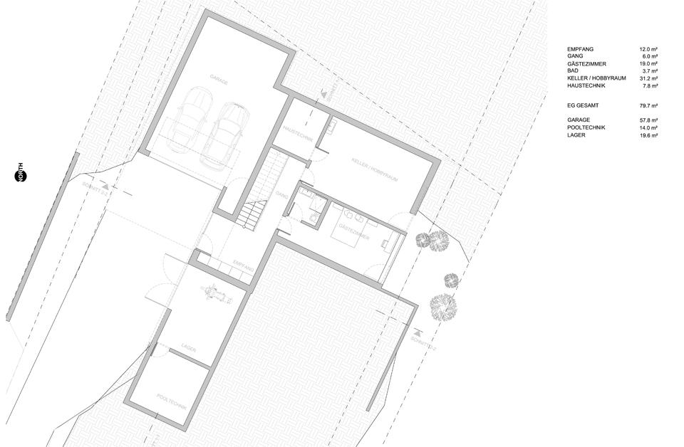 Haus am Bisamberg - EG
