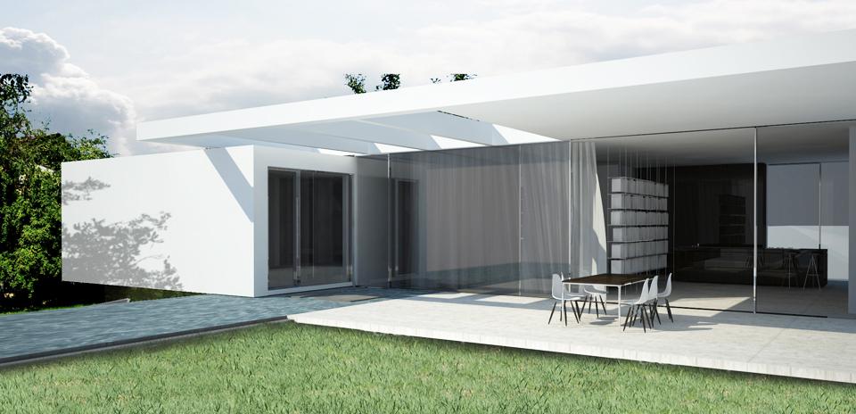 Haus am Bisamberg - Terrasse