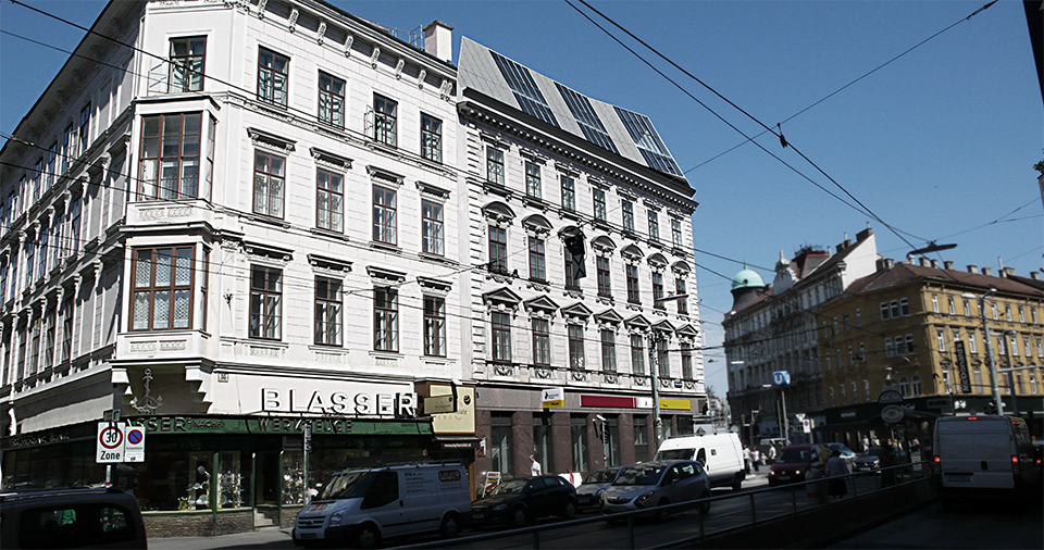 Ansicht Taborstraße
